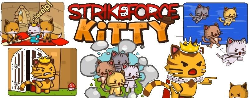 Мини игра Коты Ударная сила