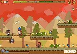 Скриншот из игры Коты Ударная Сила