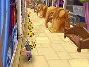 Бегущая Бабушка - Бесплатные флеш игры онлайн