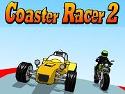 Coaster Racer 2 - Бесплатные флеш игры онлайн