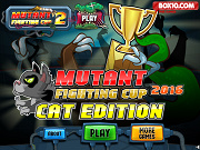 Mutant Fighting Cup 2016: Cat Edition