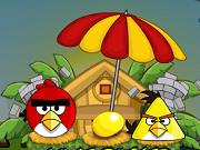 Angry Birds: Найди партнера - Бесплатные флеш игры онлайн