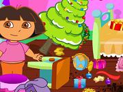 Рождественская уборка Даши - Бесплатные флеш игры онлайн