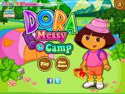 Даша: Грязный лагерь - Бесплатные флеш игры онлайн