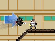 Липкий Ниндзя - академия - Бесплатные флеш игры онлайн