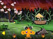 Счастливая Обезьяна - самураи - Бесплатные флеш игры онлайн