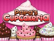 Papa's Cupcakeria - Бесплатные флеш игры онлайн
