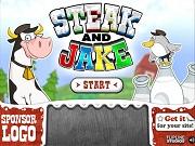 Стейк и Джейк - Бесплатные флеш игры онлайн