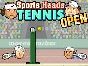 Открытый теннис – спортивные головы - Бесплатные флеш игры онлайн