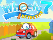 Wheely 7: Detective - Бесплатные флеш игры онлайн