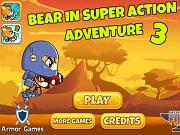 Супер приключения Медведя 3 - Бесплатные флеш игры онлайн
